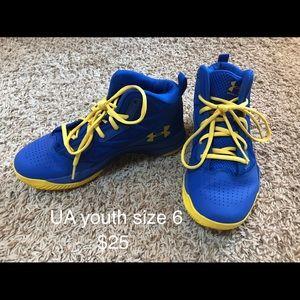 UA Youth Basketball shoes
